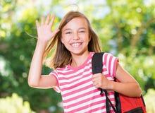 Free Girl Back To School Stock Image - 77470091
