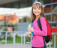 Girl back to school Royalty Free Stock Images