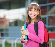 Girl back to school Stock Image