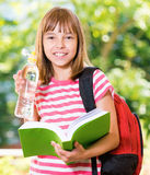 Girl back to school Royalty Free Stock Photos