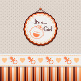 It is a girl background Royalty Free Stock Image