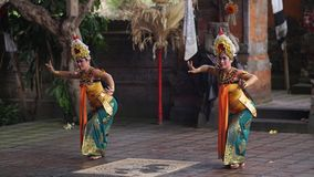 Balinese dance Royalty Free Stock Photography