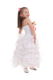 Girl in a ball gown Royalty Free Stock Images