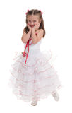 Girl in a ball gown Royalty Free Stock Photo