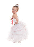 Girl in a ball gown Stock Photo