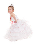 Girl in a ball gown Stock Photos