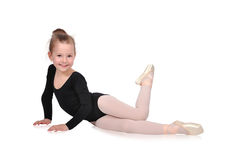 Girl Ballerina Royalty Free Stock Image