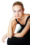 Girl ballerina dancer Royalty Free Stock Photography