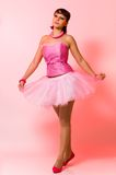 The girl in a ballet Royalty Free Stock Image