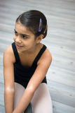 Girl in ballet class Stock Photography