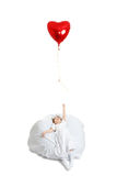 Girl and balloon Royalty Free Stock Photography