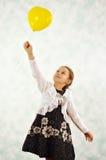 Girl and balloon Royalty Free Stock Photos