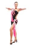 Girl ballroom dancer Royalty Free Stock Image