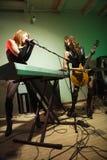 Girl band. royalty free stock photos