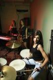 Girl band. Royalty Free Stock Image