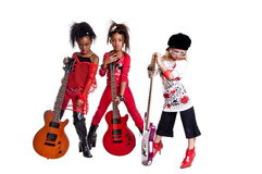 Girl Band Stock Images