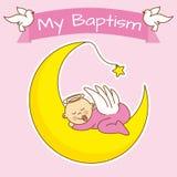 Girl baptism Royalty Free Stock Photography