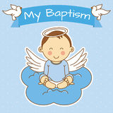 Girl baptism Stock Images
