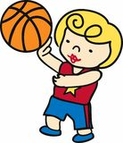 Girl Basketball Player Royalty Free Stock Image