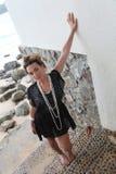 Girl at beach. Royalty Free Stock Image