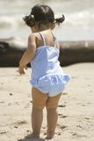 Girl at Beach Royalty Free Stock Images
