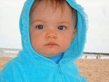 Girl on Beach Close-up royalty free stock photos