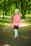 Girl with bear Royalty Free Stock Photography