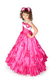 The girl in a beautiful dress Royalty Free Stock Photography