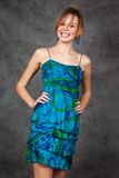 Girl in a beautiful dress Stock Photo