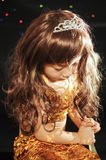 Girl. The beautiful girl is Oriental princess Royalty Free Stock Photography