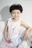 Girl. The beautiful girl is Oriental princess Royalty Free Stock Images