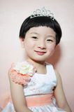 Girl. The beautiful girl is Oriental princess Stock Images