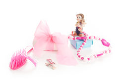 Girl beauty accessories Stock Photo