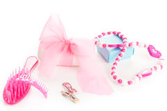 Girl beauty accessories Stock Photography