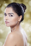Girl with beauty face and perfect skin Royalty Free Stock Photography