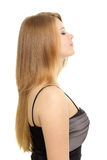 Girl with beauty long hair Stock Photography
