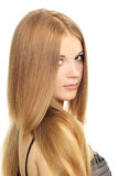 Girl with beauty long hair Stock Photos