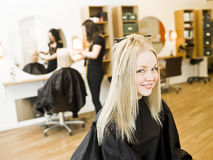 Girl at the Beauty Spa Stock Photo