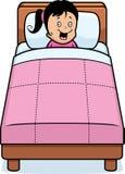 Girl Bedtime Royalty Free Stock Photos