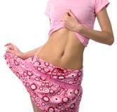 Girl belly Stock Photos