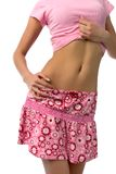 Girl belly Royalty Free Stock Photo