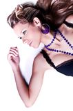 Girl with bijou Royalty Free Stock Image