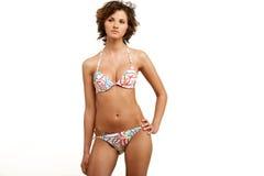 Girl in bikini. Royalty Free Stock Photos
