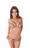 Girl in a bikini stock photo