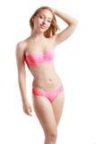 Girl in a bikini Stock Images