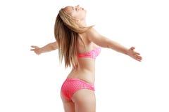 Girl in a bikini Royalty Free Stock Photo