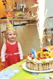 Girl  birthday Stock Photography