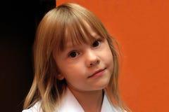 Girl blond Stock Photos
