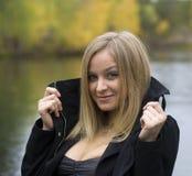 Girl on boat Stock Photos