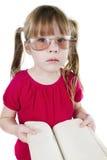 Girl with the book Stock Photos